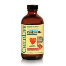 CHILD LIFE COD LIVER OIL-STRAWBERRY 8 OZ